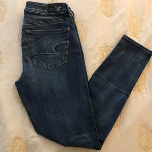 Dark wash American Eagle Outfitters jeans